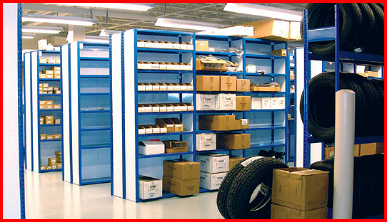 Industrial Storage Cabinets and Shelving Systems