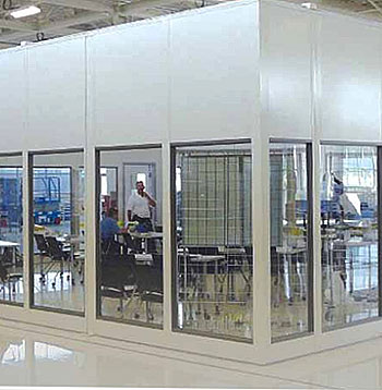 Modular Offices/Buildings | Mezzanines & Mezzanine Lifts