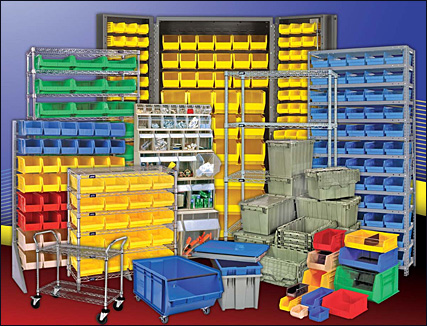 Industrial Storage Bin Solutions